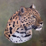 Leopard Portrait – Art in Oils