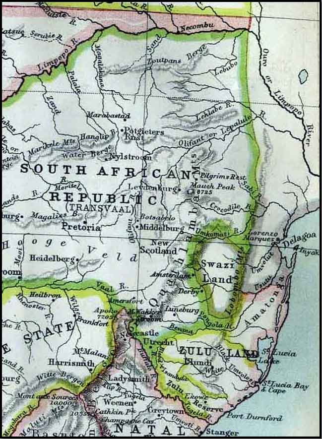 South-African-Lowveld-Region-Map-Wildmoz.com