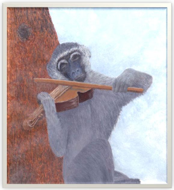 African-Folktale-Monkey-Fiddle-Wildmoz.com