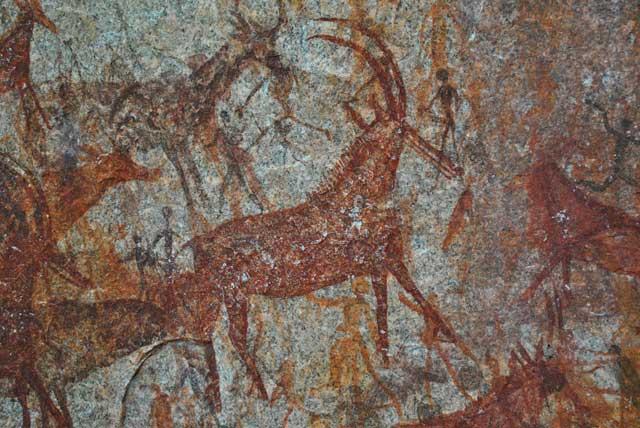 Sable-Antelope-Bushman-Cave-Painting-Wildmoz.com