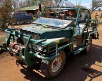 African Land Rover Graveyard